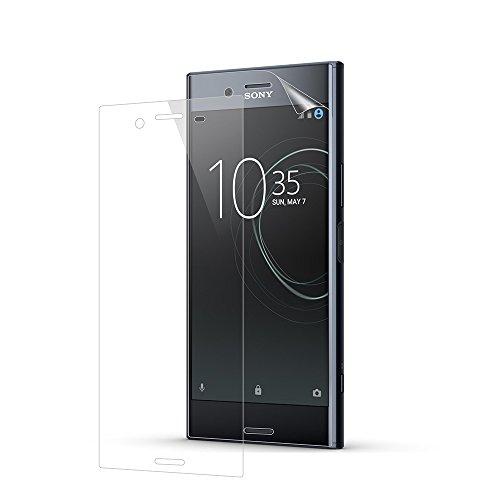Sony Xperia XZ Premium Schutzfolie, Acelive 2 Stück Vollständige Abdeckung  Anti Kratz Blasenfrei HD Transparent Displayschutz TPU Weich Folie Screen  ...