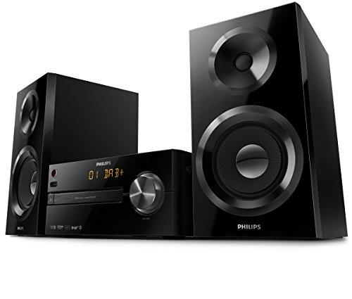 philips btb2570 12 mini stereoanlage mit dab plus. Black Bedroom Furniture Sets. Home Design Ideas