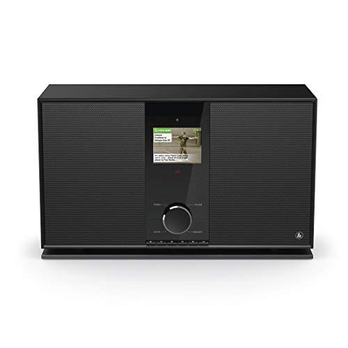 hama dab internetradio mit 2 1 soundsystem wlan digital. Black Bedroom Furniture Sets. Home Design Ideas